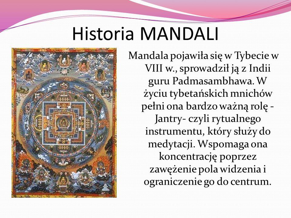 Historia MANDALI