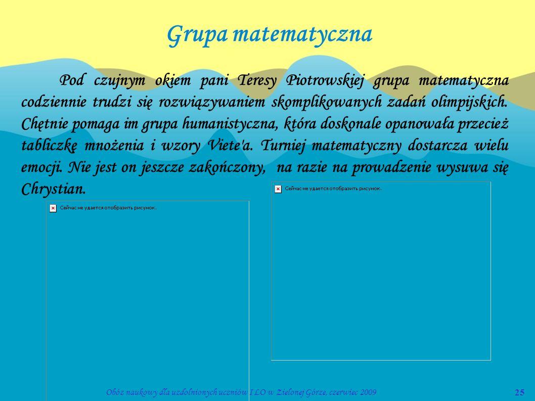 Grupa matematyczna