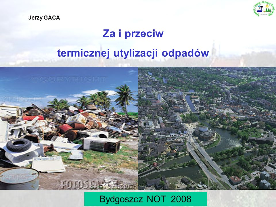 termicznej utylizacji odpadów