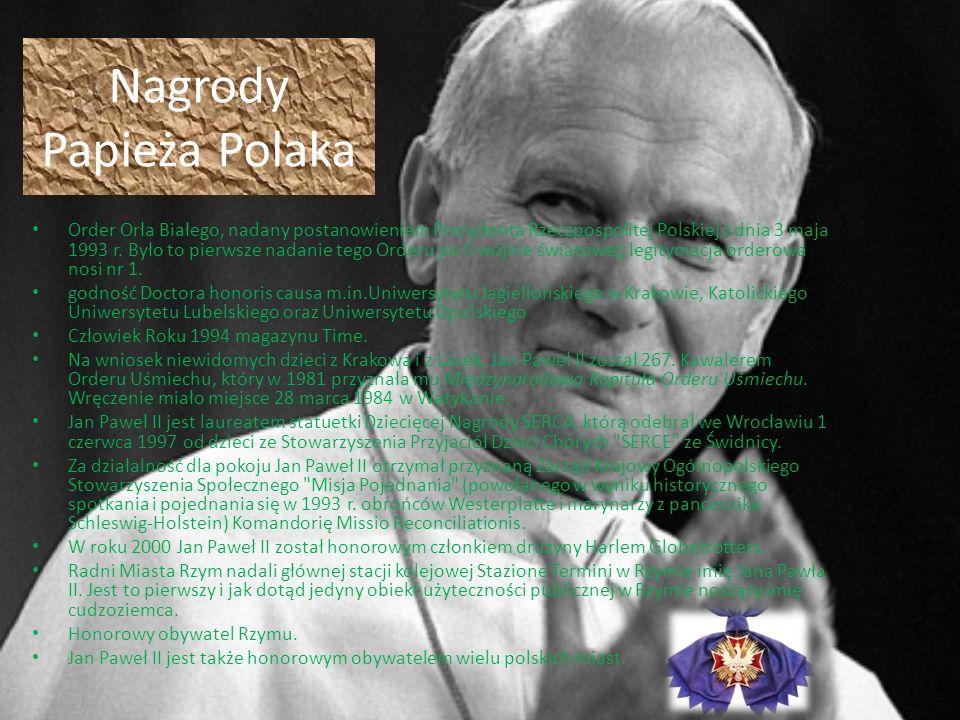 Nagrody Papieża Polaka