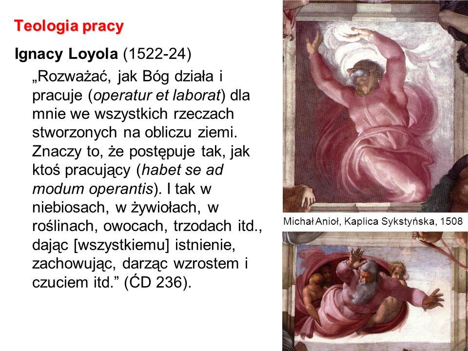 Teologia pracy Ignacy Loyola (1522-24)