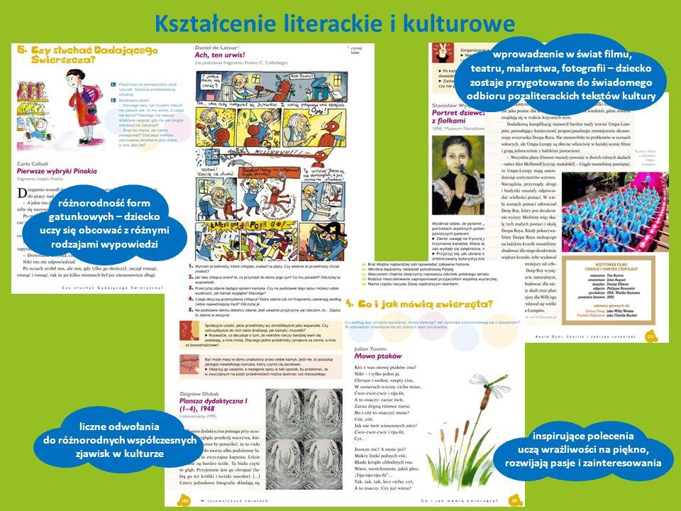 Kształcenie literackie i kulturowe