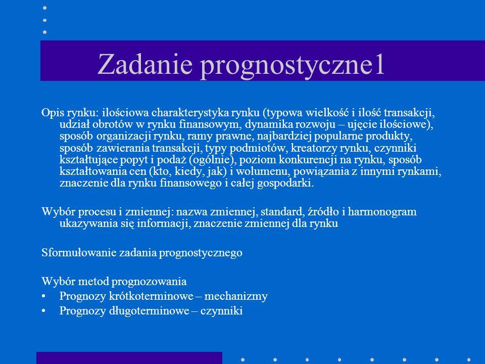 Zadanie prognostyczne1
