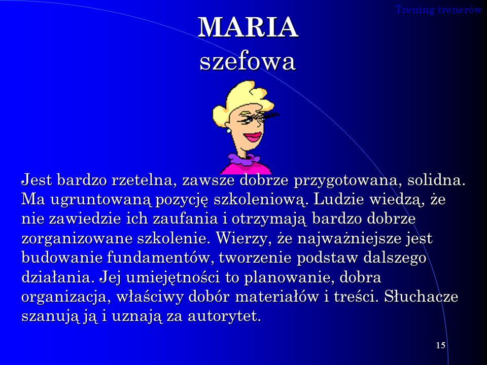 MARIA szefowa