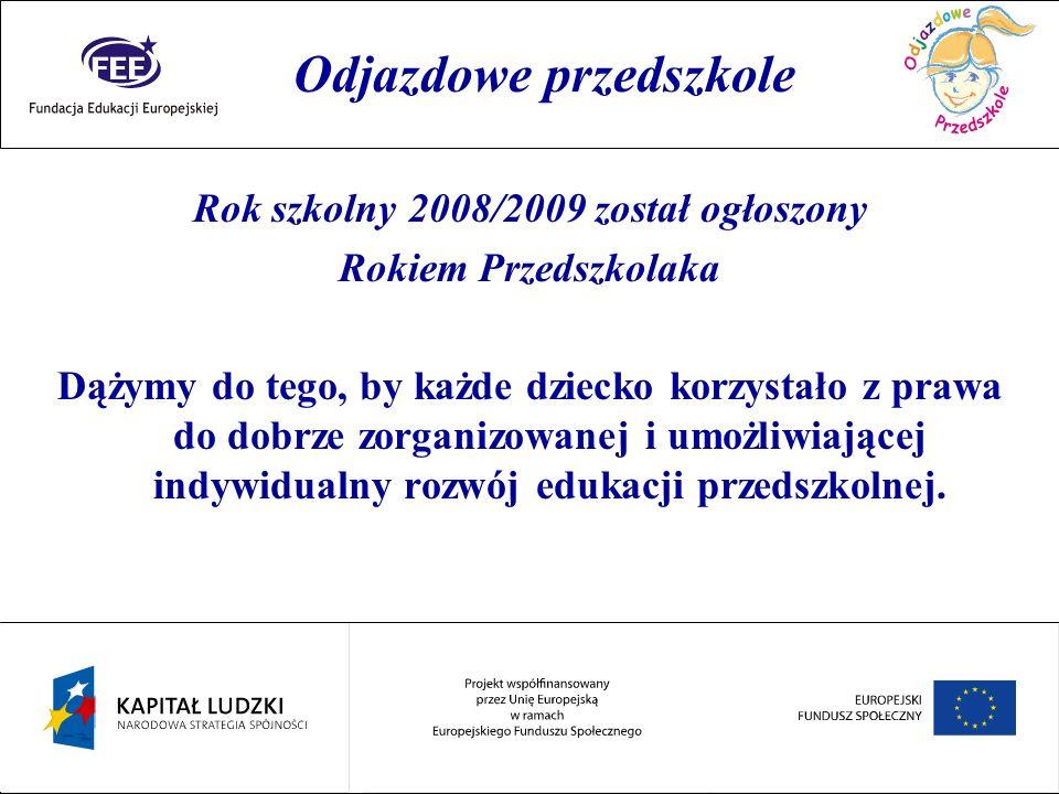Rok szkolny 2008/2009 został ogłoszony