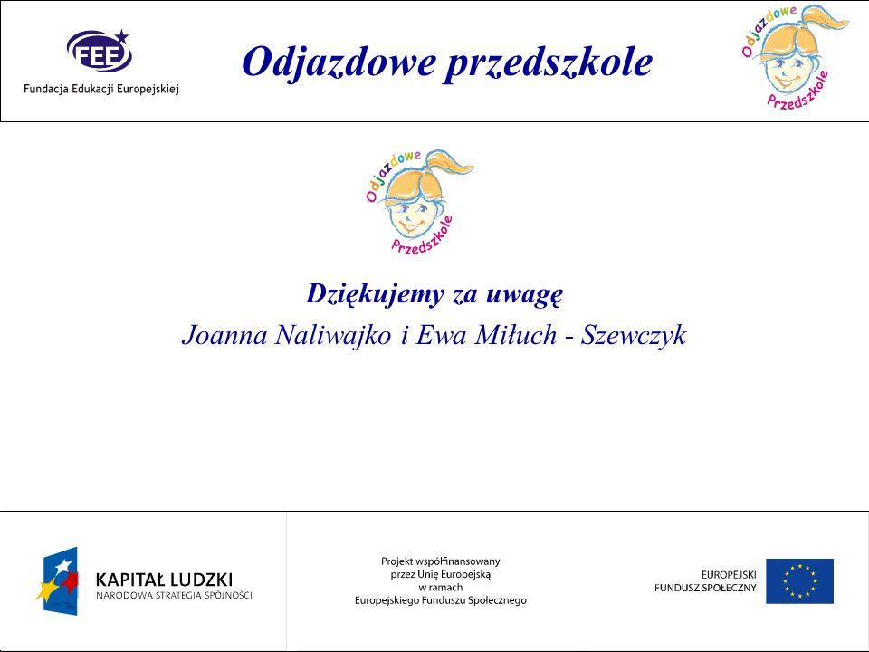 Joanna Naliwajko i Ewa Miłuch - Szewczyk