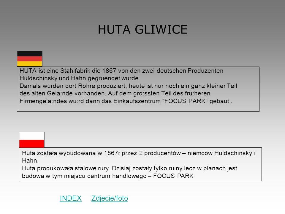 HUTA GLIWICE INDEX Zdjęcie/foto