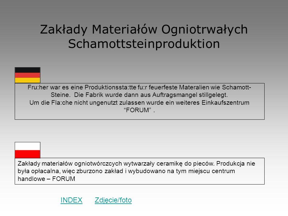 Zakłady Materiałów Ogniotrwałych Schamottsteinproduktion