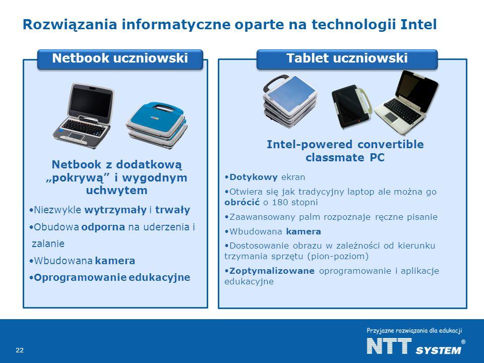 Rozwiązania informatyczne oparte na technologii Intel