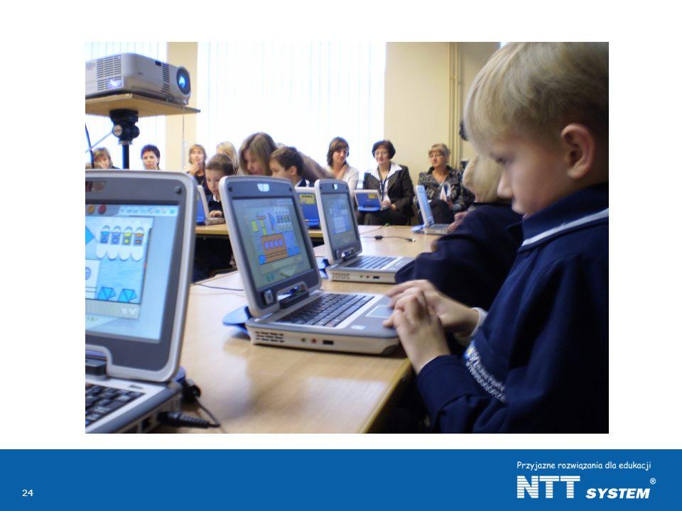 Na zdjęciu lekcja pokazowa uczniów klasy pierwszej ze Szkoły Podstawowej w Twardogórze