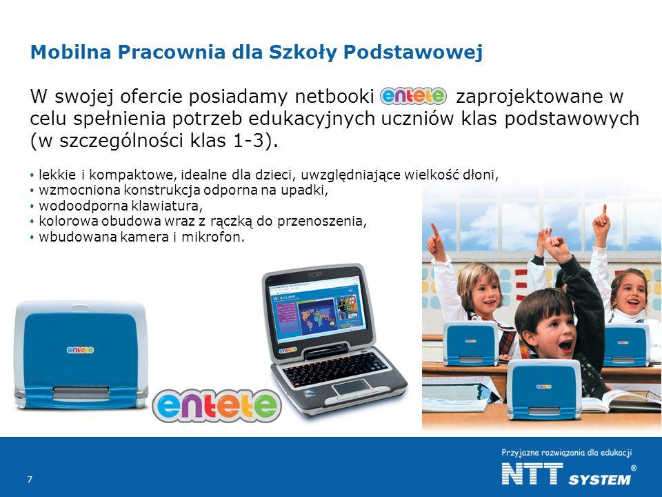 Mobilna Pracownia dla Szkoły Podstawowej