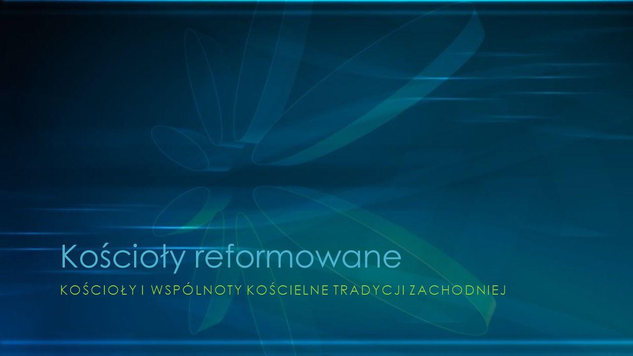 Kościoły reformowane Kościoły i Wspólnoty Kościelne Tradycji Zachodniej