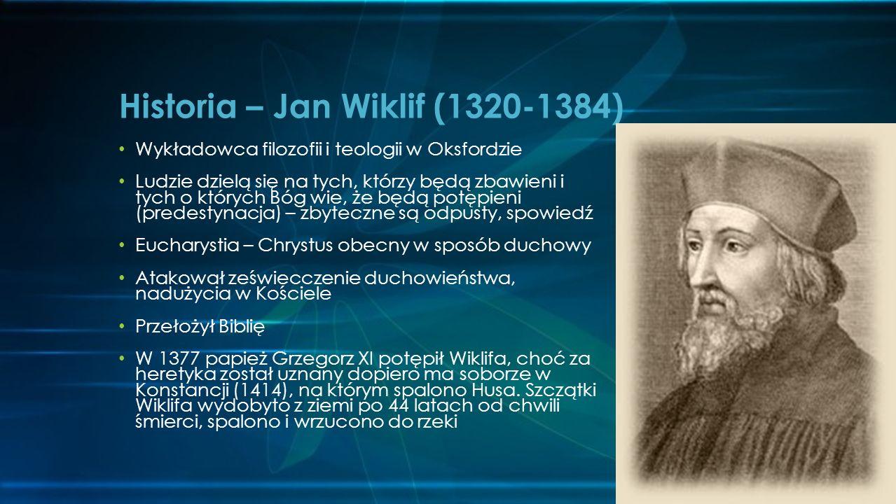 Historia – Jan Wiklif (1320-1384)