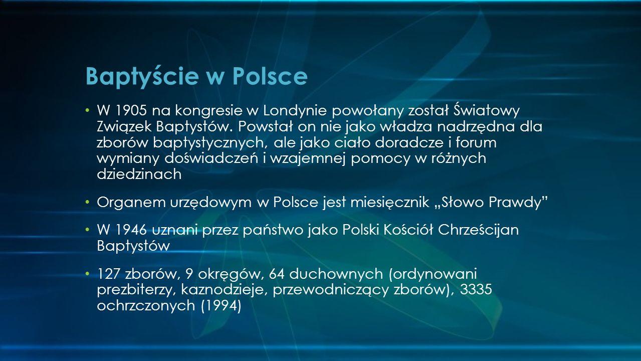 Baptyście w Polsce