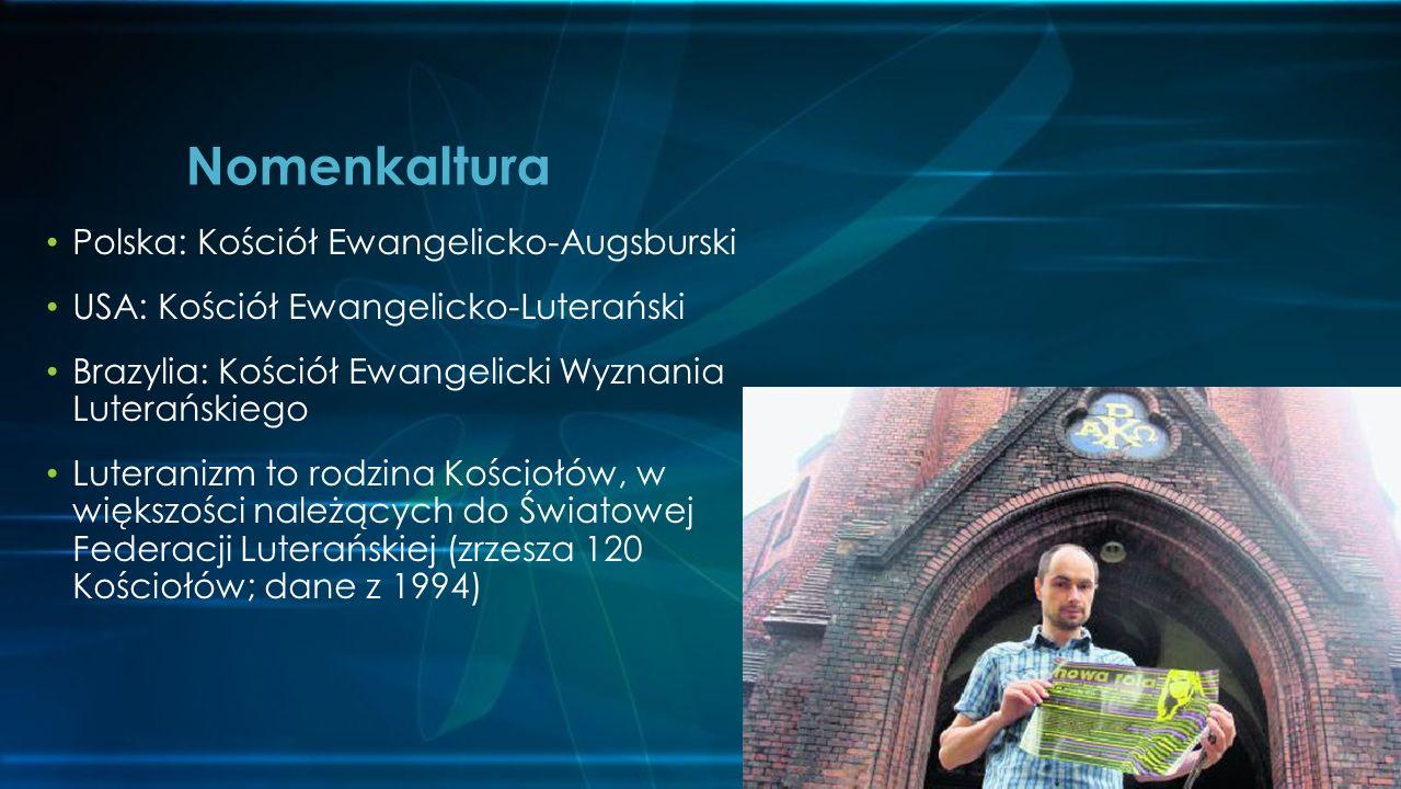 Nomenkaltura Polska: Kościół Ewangelicko-Augsburski