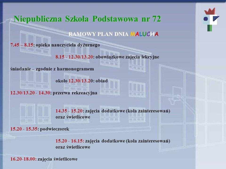 Niepubliczna Szkoła Podstawowa nr 72