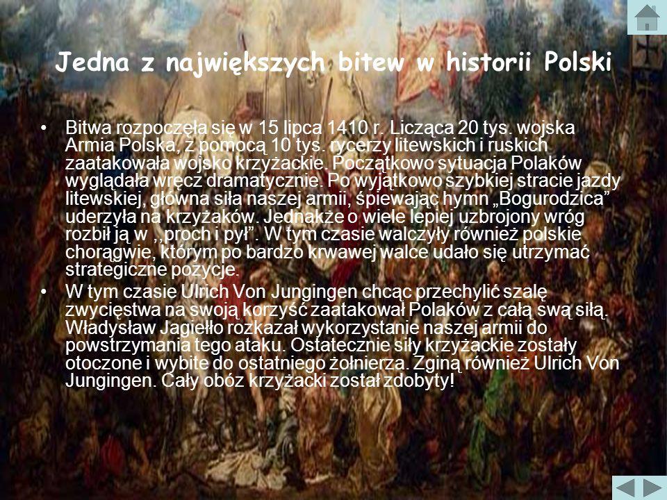 Jedna z największych bitew w historii Polski