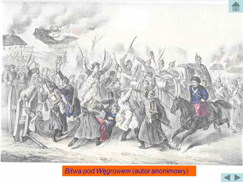 Bitwa pod Węgrowem (autor anonimowy)