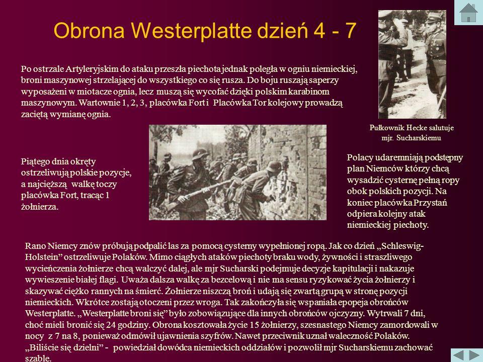 Obrona Westerplatte dzień 4 - 7