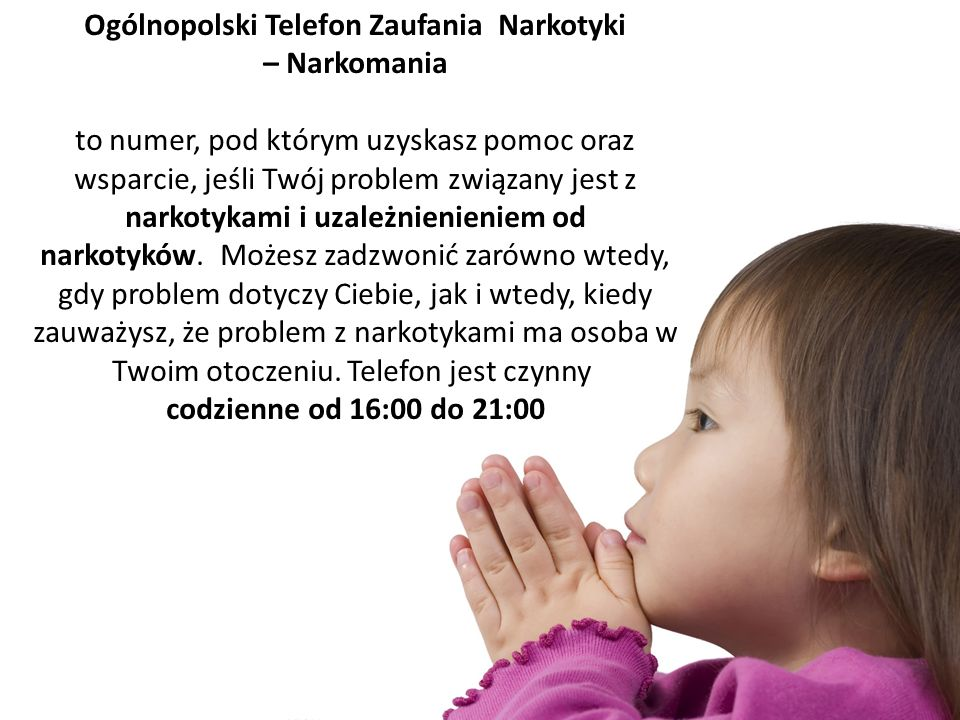 Ogólnopolski Telefon Zaufania Narkotyki