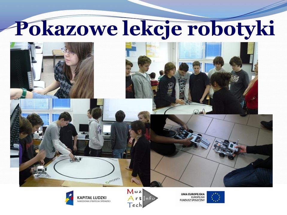 Pokazowe lekcje robotyki