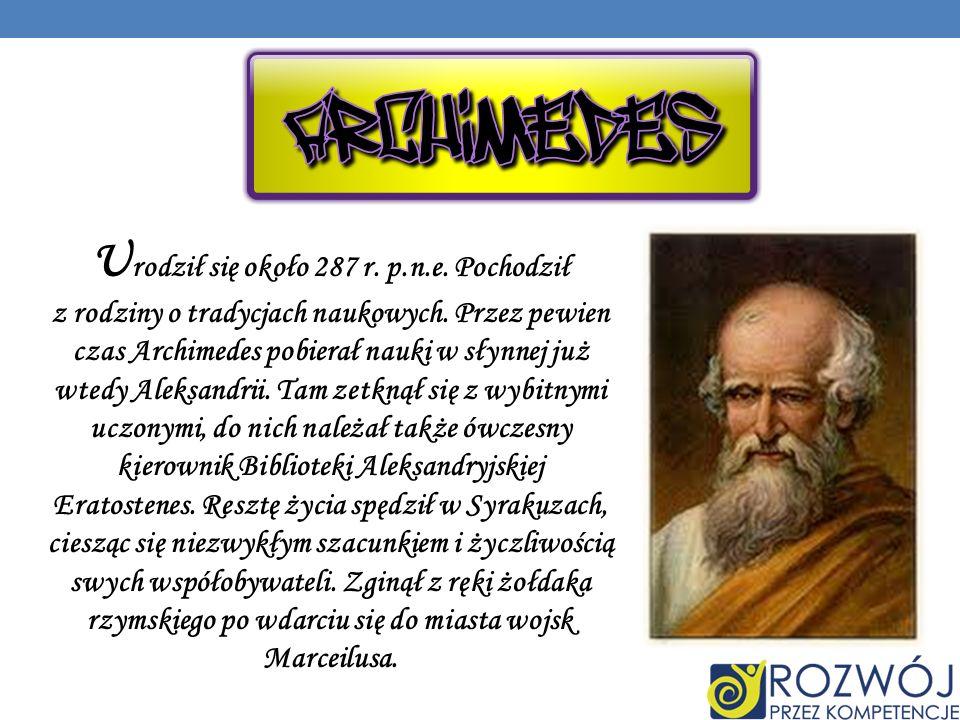 Urodził się około 287 r. p.n.e. Pochodził z rodziny o tradycjach naukowych.