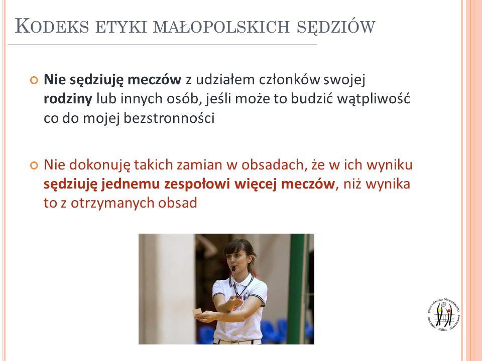 Kodeks etyki małopolskich sędziów