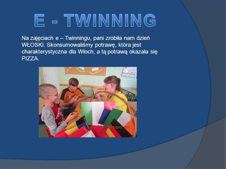 E - TWINNING