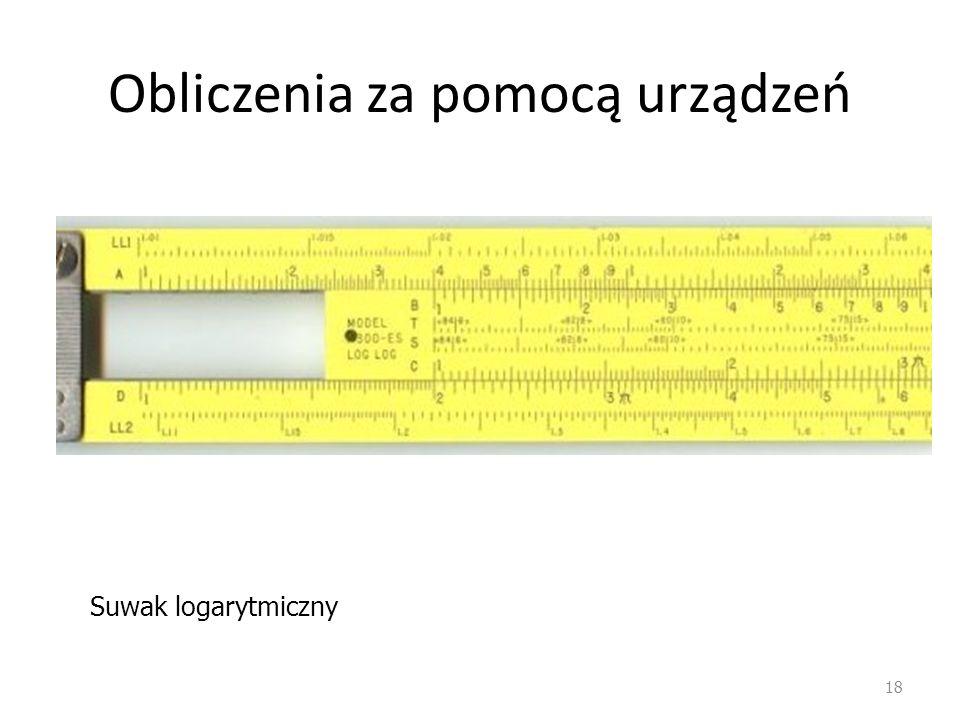 Obliczenia za pomocą urządzeń