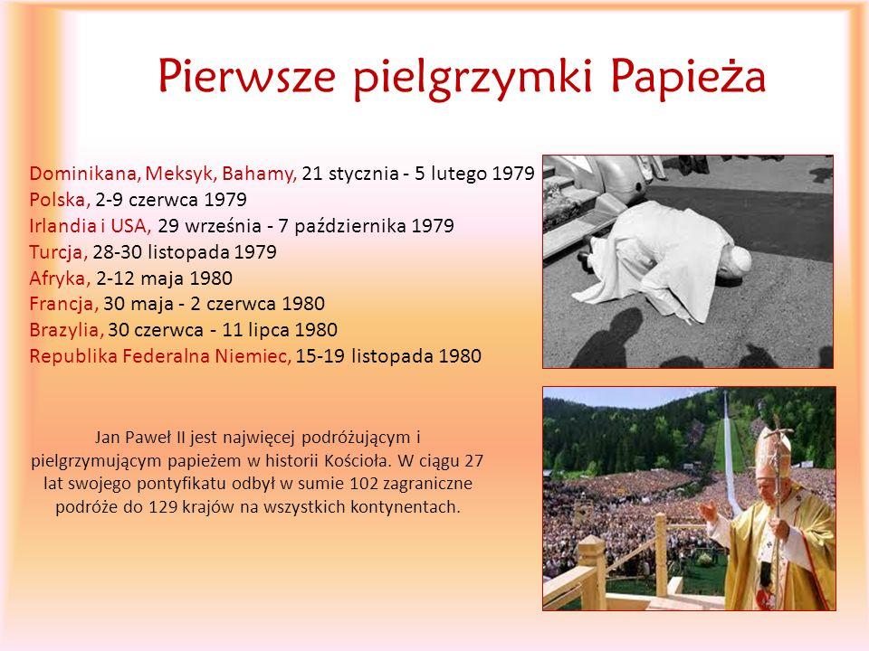 Pierwsze pielgrzymki Papieża