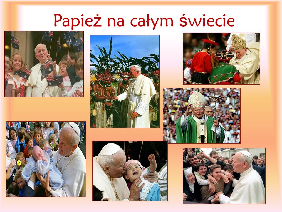 Papież na całym świecie
