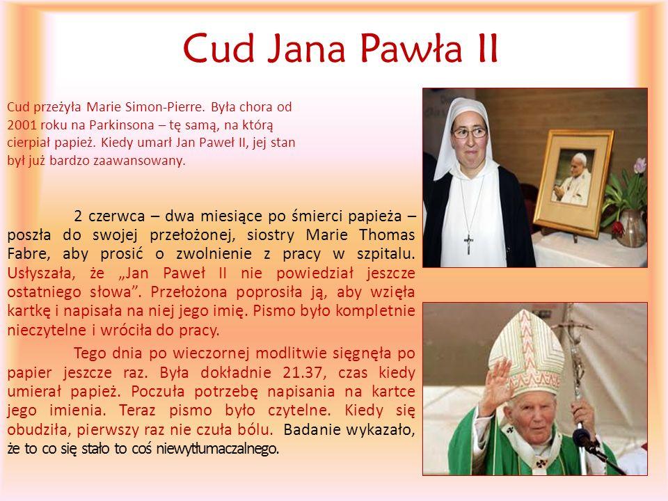 Cud Jana Pawła II
