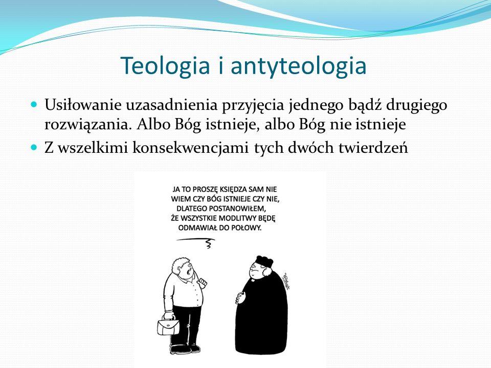 Teologia i antyteologia