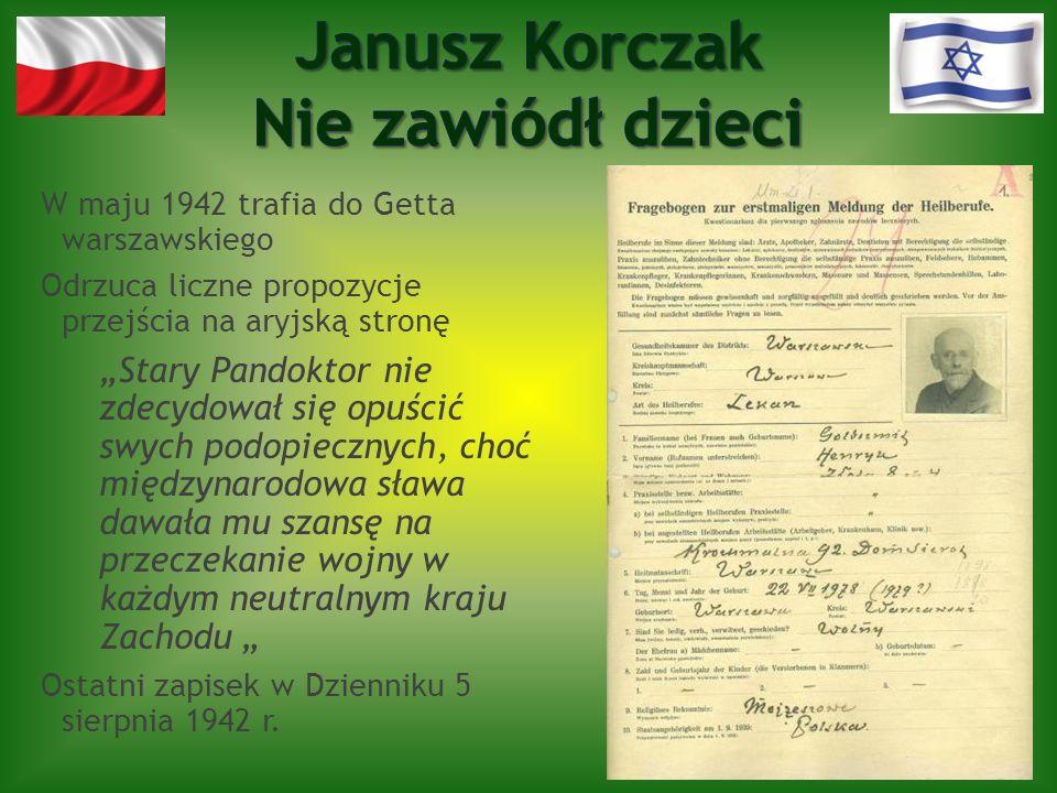 Janusz Korczak Nie zawiódł dzieci