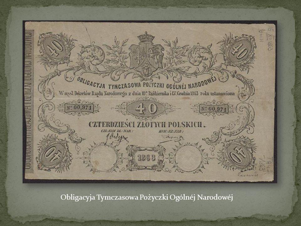Obligacyja Tymczasowa Pożyczki Ogólnéj Narodowéj