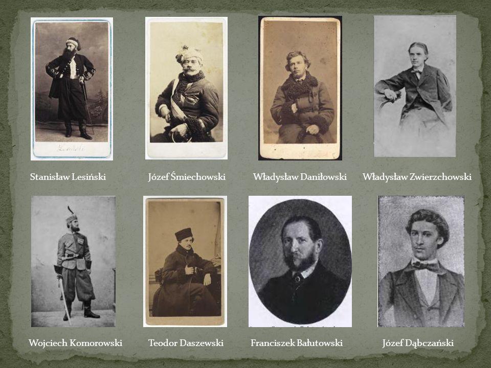 Stanisław Lesiński Józef Śmiechowski. Władysław Daniłowski. Władysław Zwierzchowski. Wojciech Komorowski.