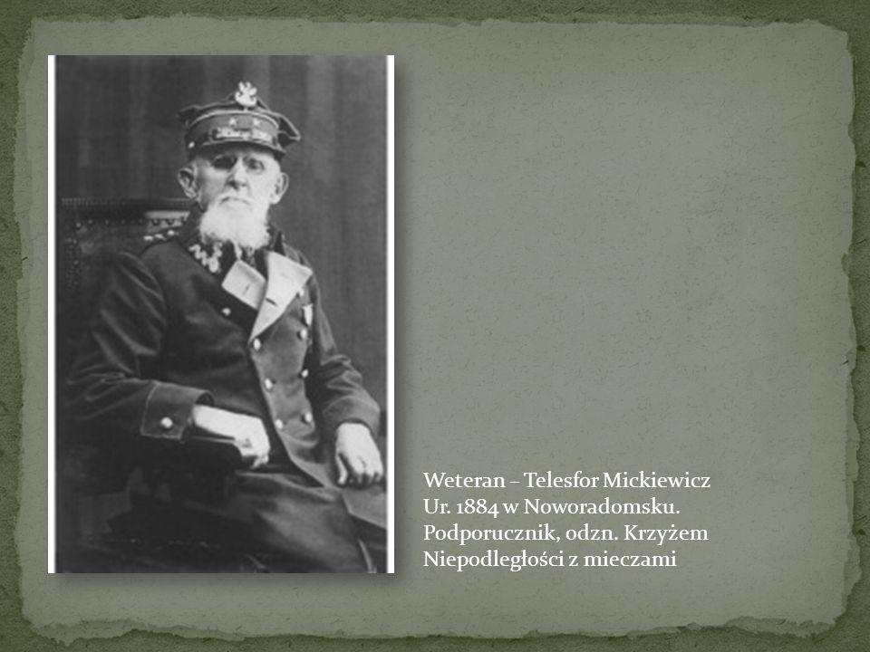 Weteran – Telesfor Mickiewicz