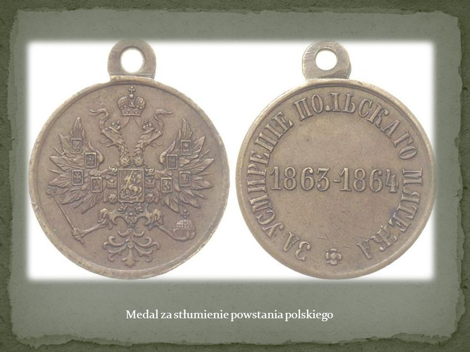 Medal za stłumienie powstania polskiego