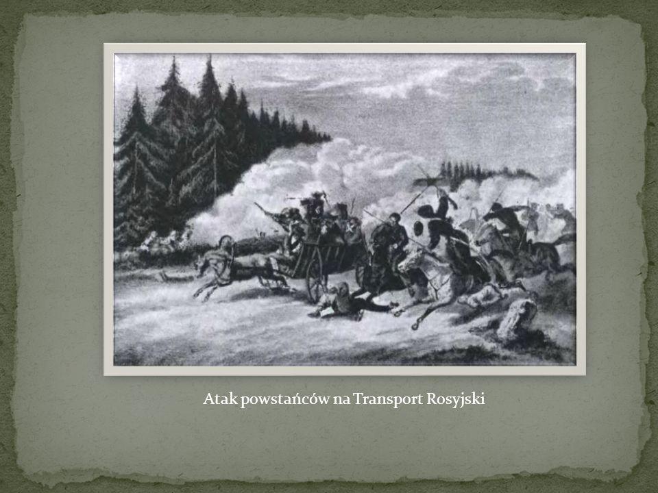 Atak powstańców na Transport Rosyjski