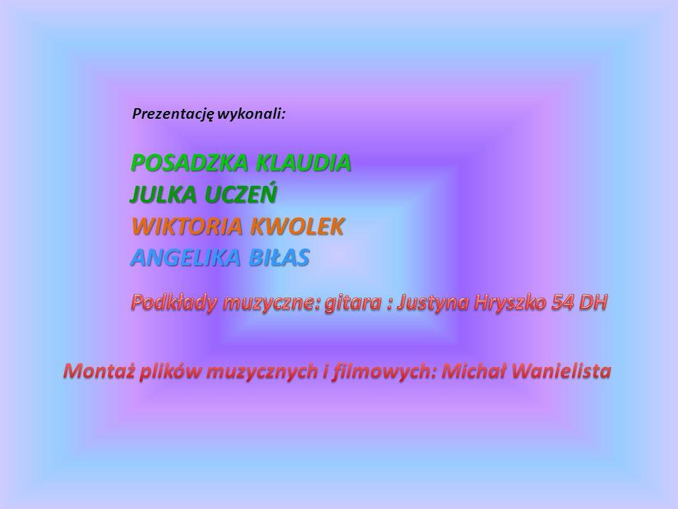 Podkłady muzyczne: gitara : Justyna Hryszko 54 DH