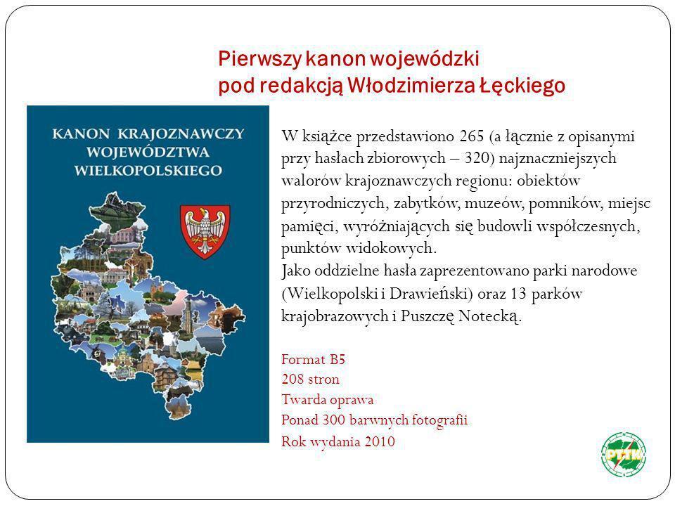 Pierwszy kanon wojewódzki pod redakcją Włodzimierza Łęckiego