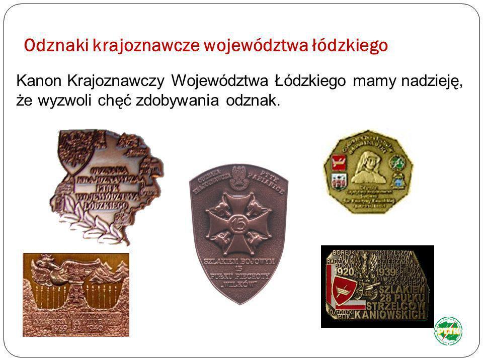 Odznaki krajoznawcze województwa łódzkiego