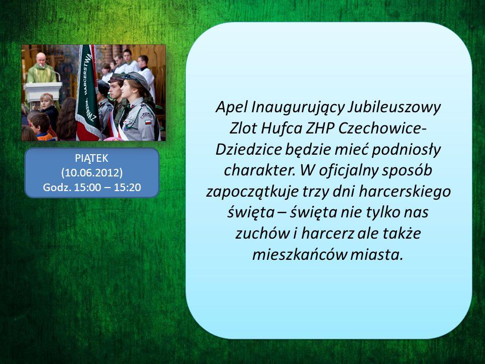 Apel Inaugurujący Jubileuszowy Zlot Hufca ZHP Czechowice-Dziedzice będzie mieć podniosły charakter. W oficjalny sposób zapoczątkuje trzy dni harcerskiego święta – święta nie tylko nas zuchów i harcerz ale także mieszkańców miasta.