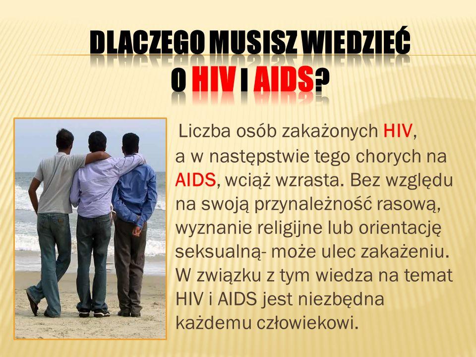 Dlaczego musisz wiedzieć o HIV i AIDS