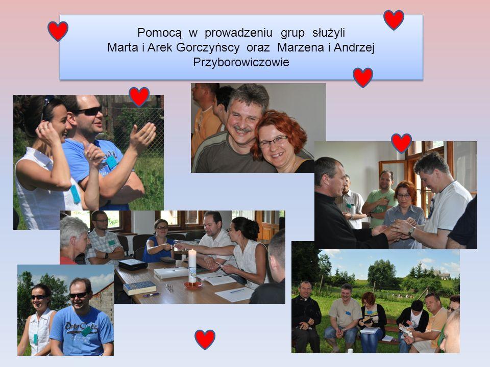 Pomocą w prowadzeniu grup służyli Marta i Arek Gorczyńscy oraz Marzena i Andrzej Przyborowiczowie