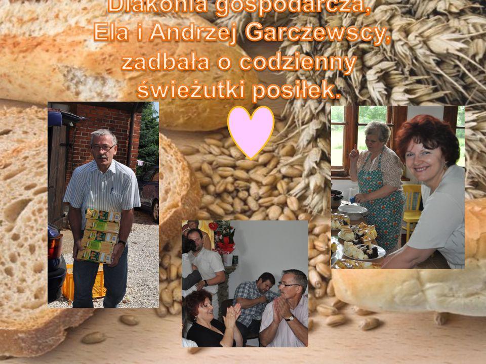 Diakonia gospodarcza, Ela i Andrzej Garczewscy, zadbała o codzienny świeżutki posiłek.