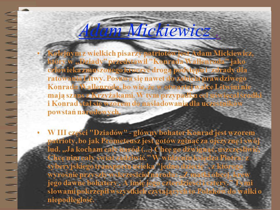 Adam Mickiewicz .