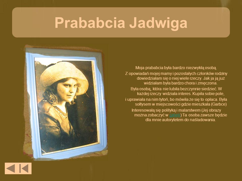 Prababcia Jadwiga