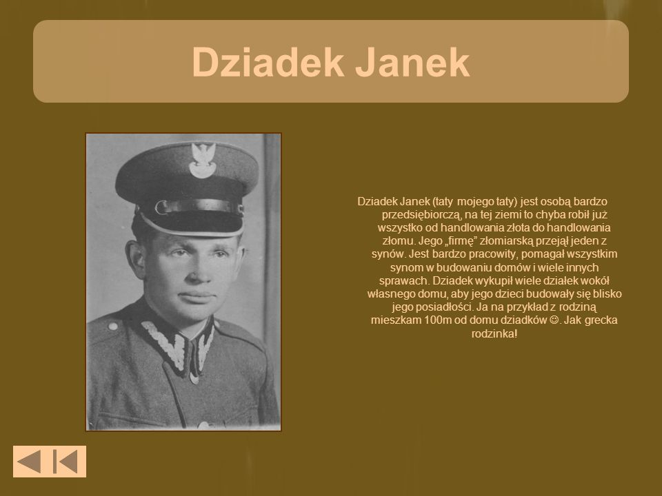 Dziadek Janek