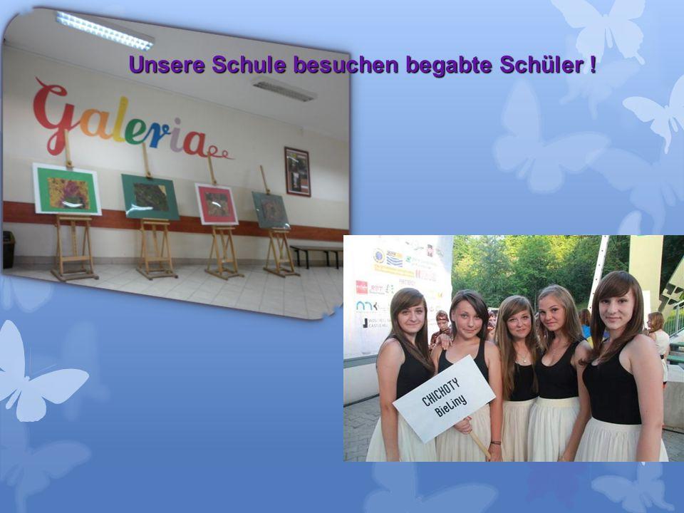 Unsere Schule besuchen begabte Schüler !